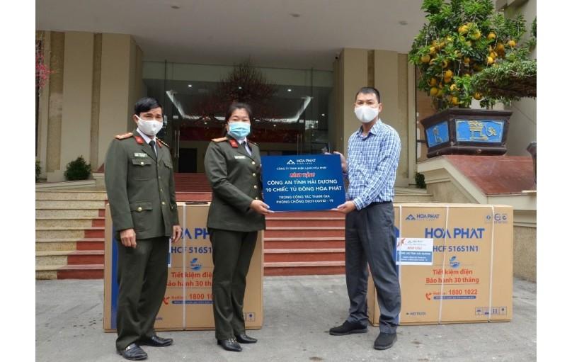 Hòa Phát tiếp tục ủng hộ phòng chống dịch Covid-19 tại Hải Dương, Bắc Giang