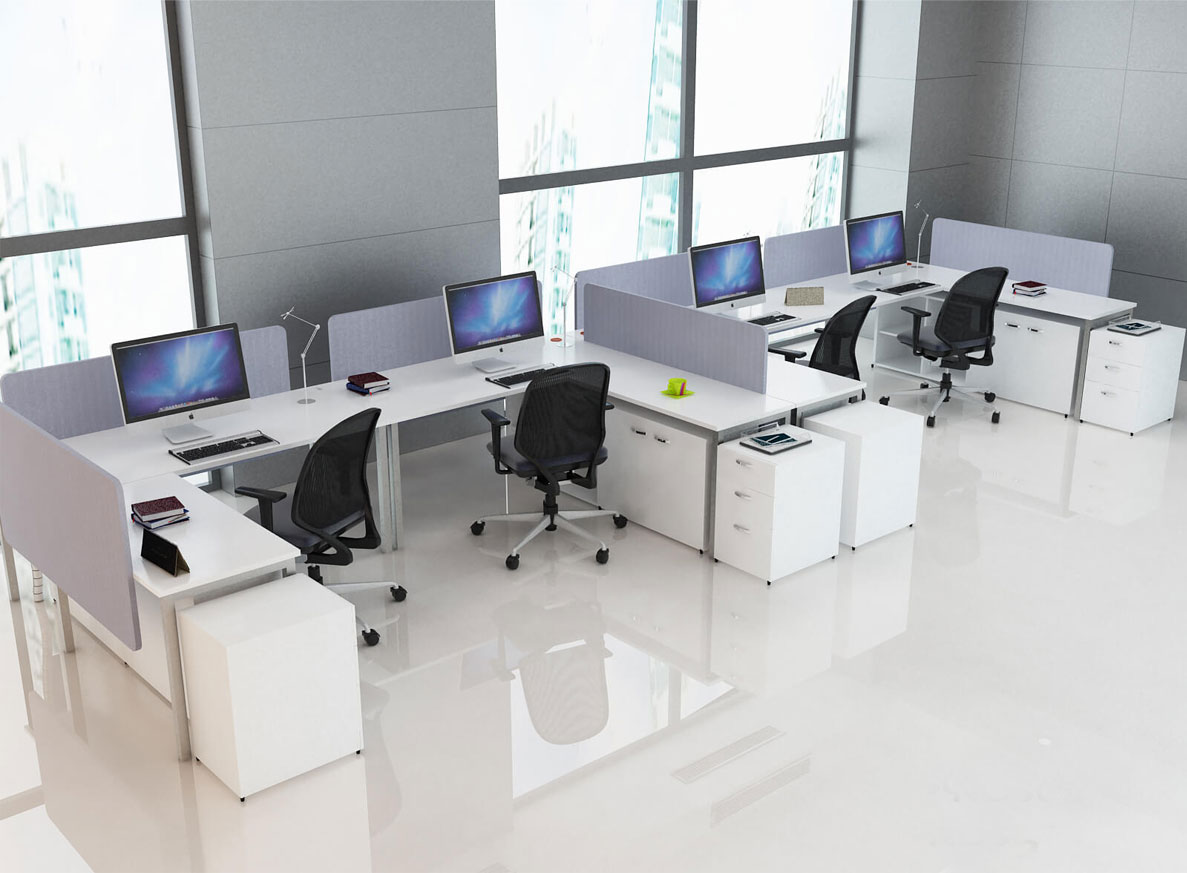 Xưởng gia công nội thất văn phòng gỗ chất lượng